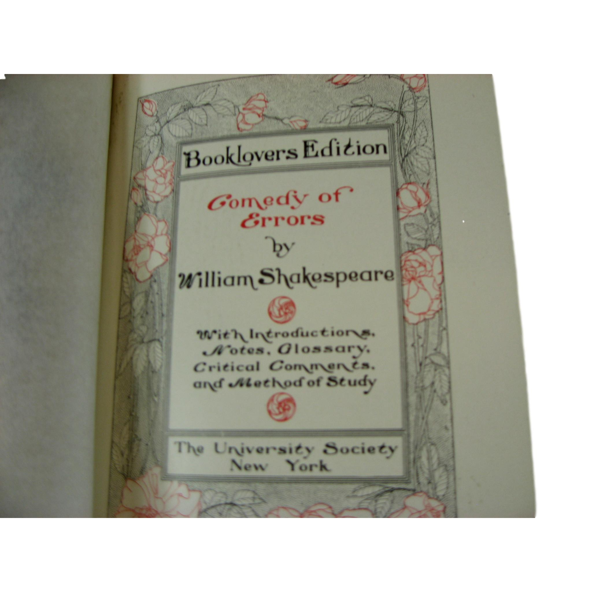 Collection of Decorative Works of William Shakespeare, S/12 - Decades of Vintage