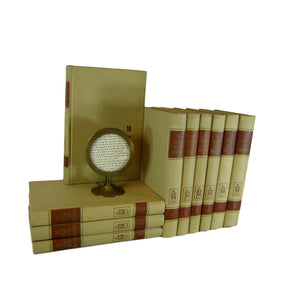 The Great Ideas Collection, Decorative Books for Shelf Decor, S/10 - Decades of Vintage