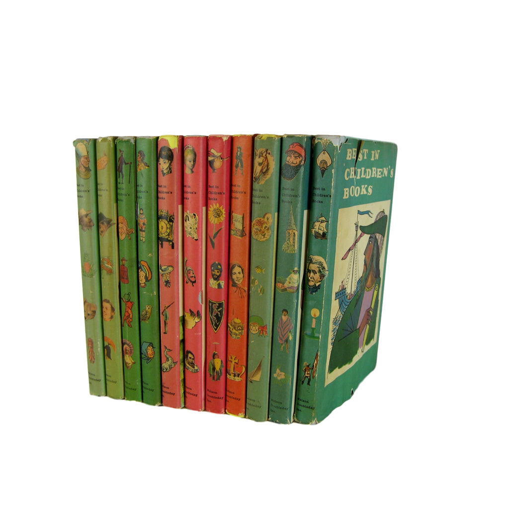 Mid-Century Vintage Children's Books for Story Reading and Nursery Decor, S/11 - Decades of Vintage
