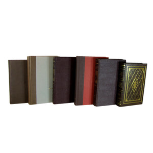 Brown Decorative Books for Shelf Book Decoration, S/6 - Decades of Vintage