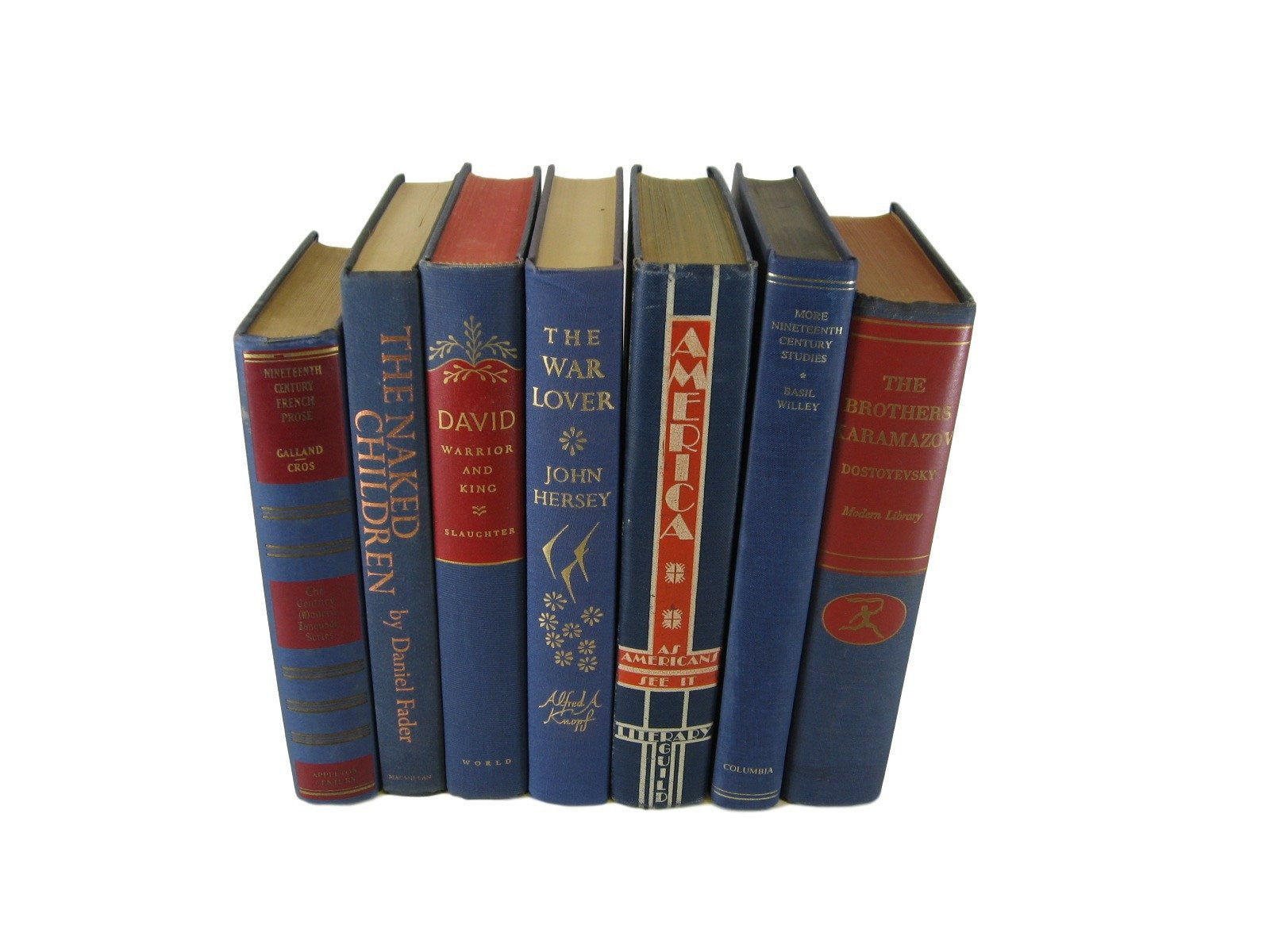 Uncategorized Book Decor blue vintage book decor s7 decades of vintage