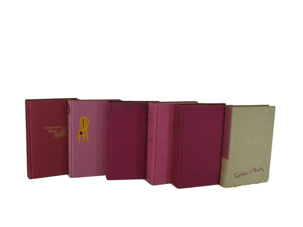 Purple Shades Vintage Books , S/6 - Decades of Vintage