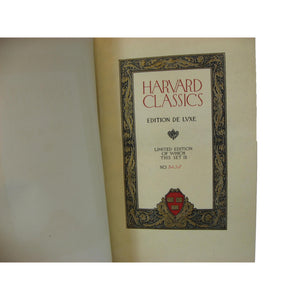 The Harvard Classics, Decorative Books for Shelves, S/5 - Decades of Vintage