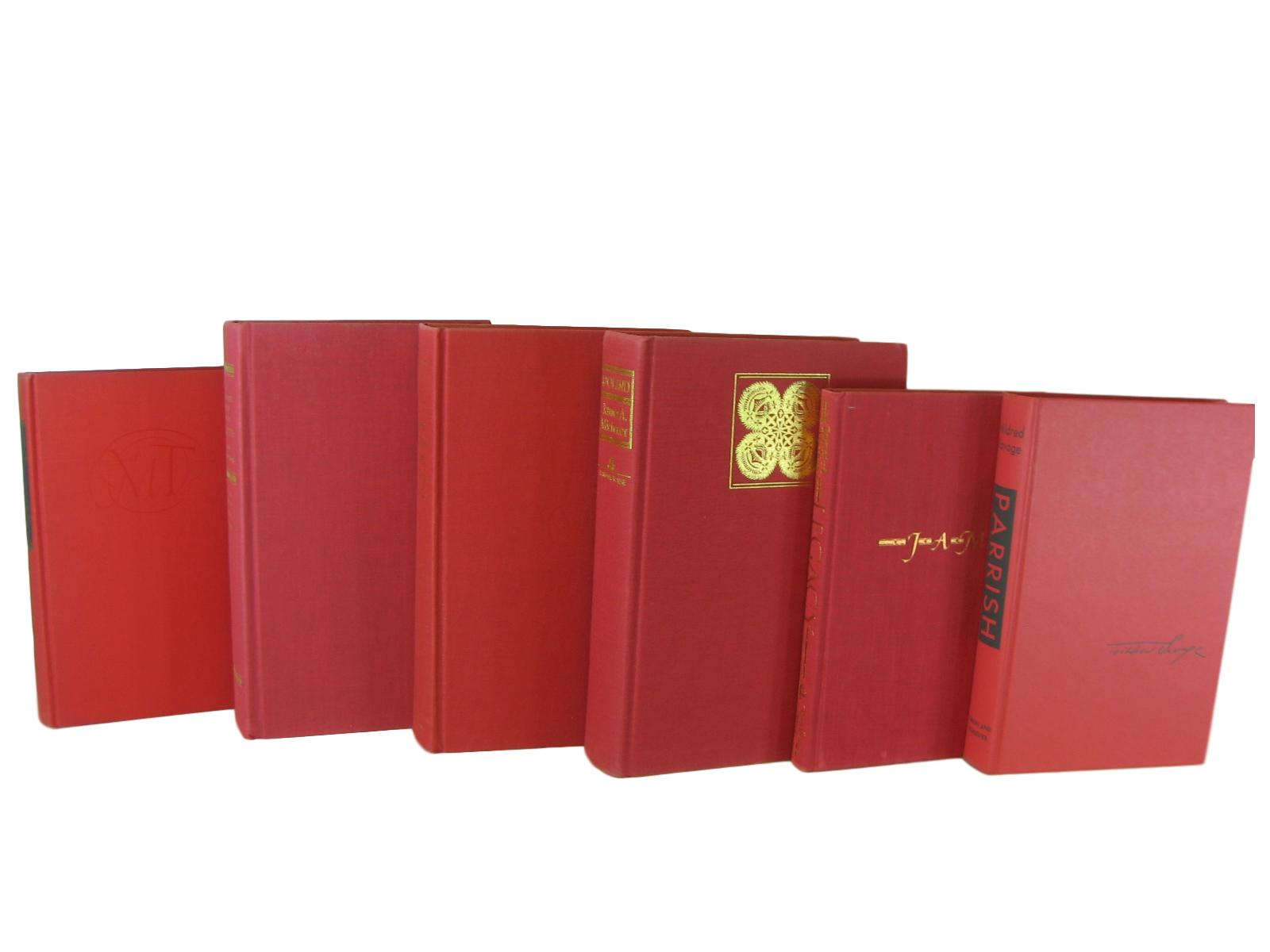 Red Books for Shelf Decor, S/6 - Decades of Vintage
