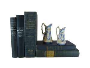 Blue Vintage Book Set, S/5 - Decades of Vintage
