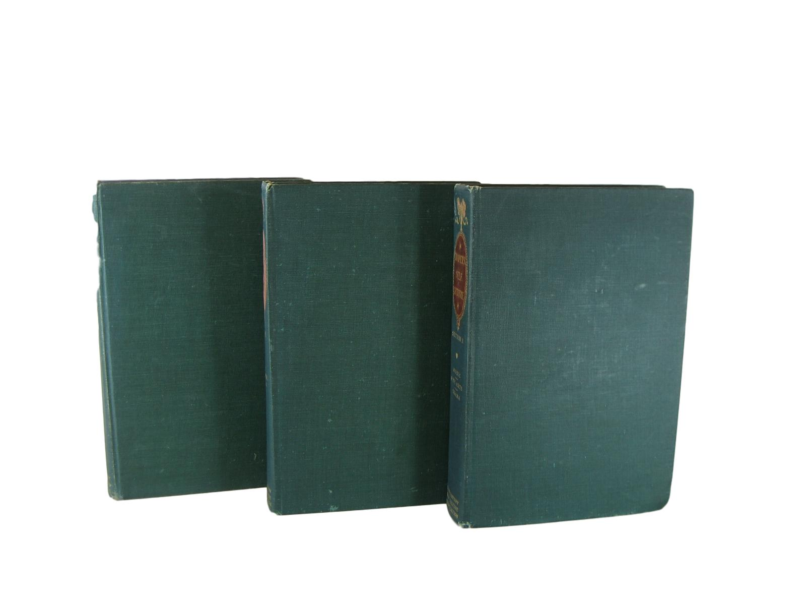 Distressed Decorative  Books in Green , S/3 - Decades of Vintage