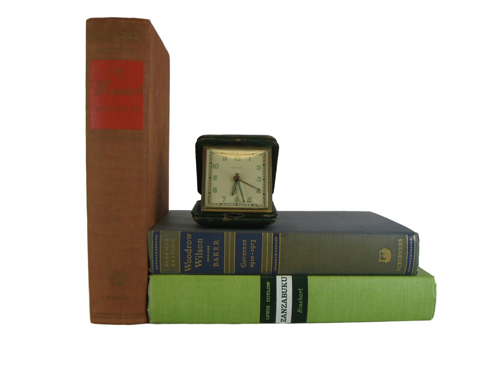 Vintage Decorative Book Accent Set in Green and Earth-tone, [decorative_books], Decades of Vintage