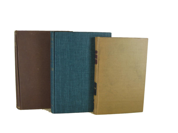 Blue Decorative Vintage Book Set, S/6-Decades of Vintage