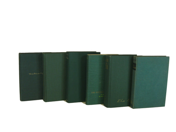 Green Collection of Decorative Books, S/6 - Decades of Vintage