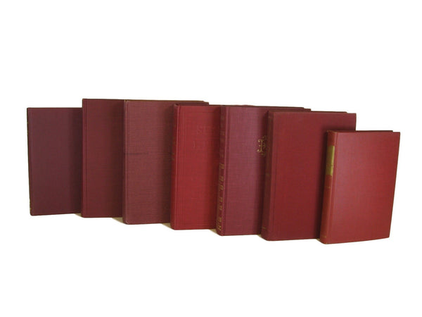 Red Vintage Books, S/7 - Decades of Vintage
