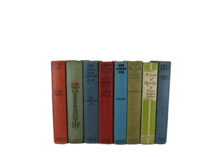 Old Decorative Books for Home Decor, S/8 - Decades of Vintage