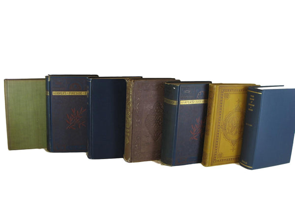 Black Vintage Book Set, S/7 - Decades of Vintage
