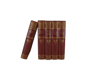 Red Harvard Classics, S/5 - Decades of Vintage