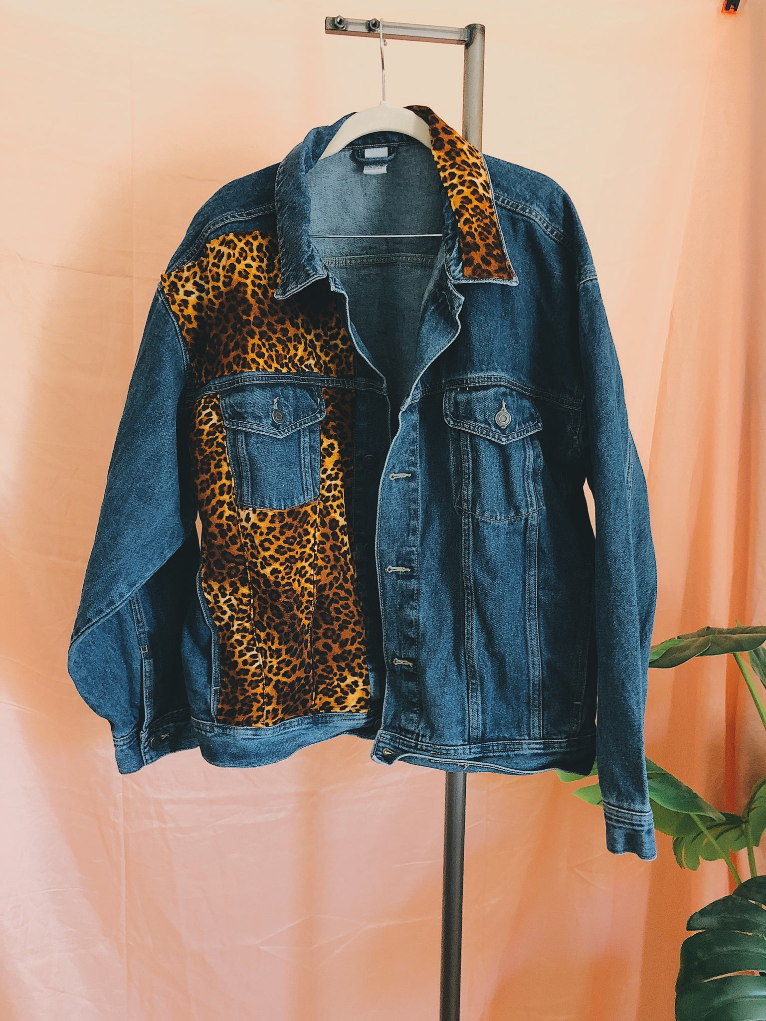 Urban Jungle Jean Jacket