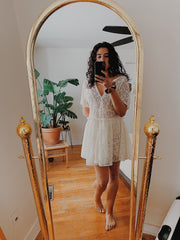 Laced Loose Float Dress