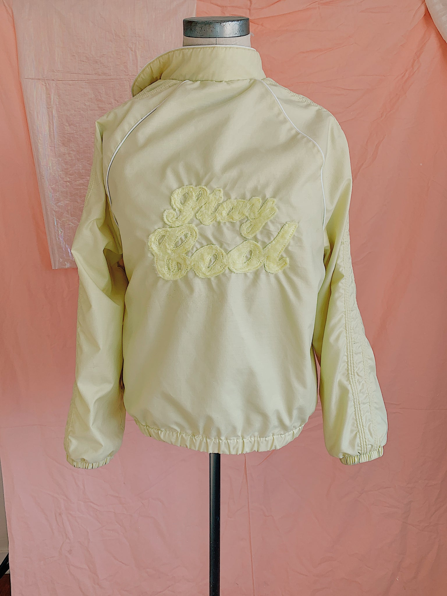 Stay Cool Honey Dew Bomber Jacket