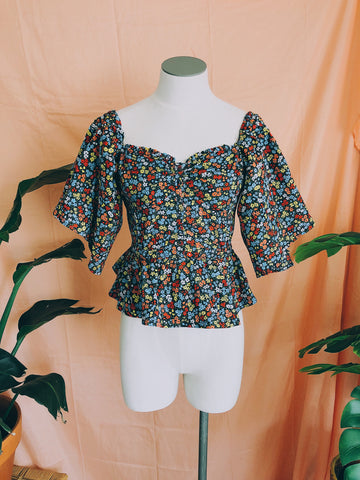 Tiny Flower Friends Top