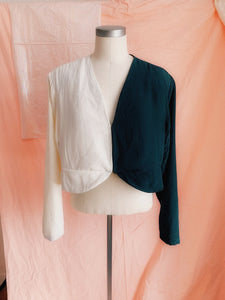 Day Meets Night Glow Blazer Top