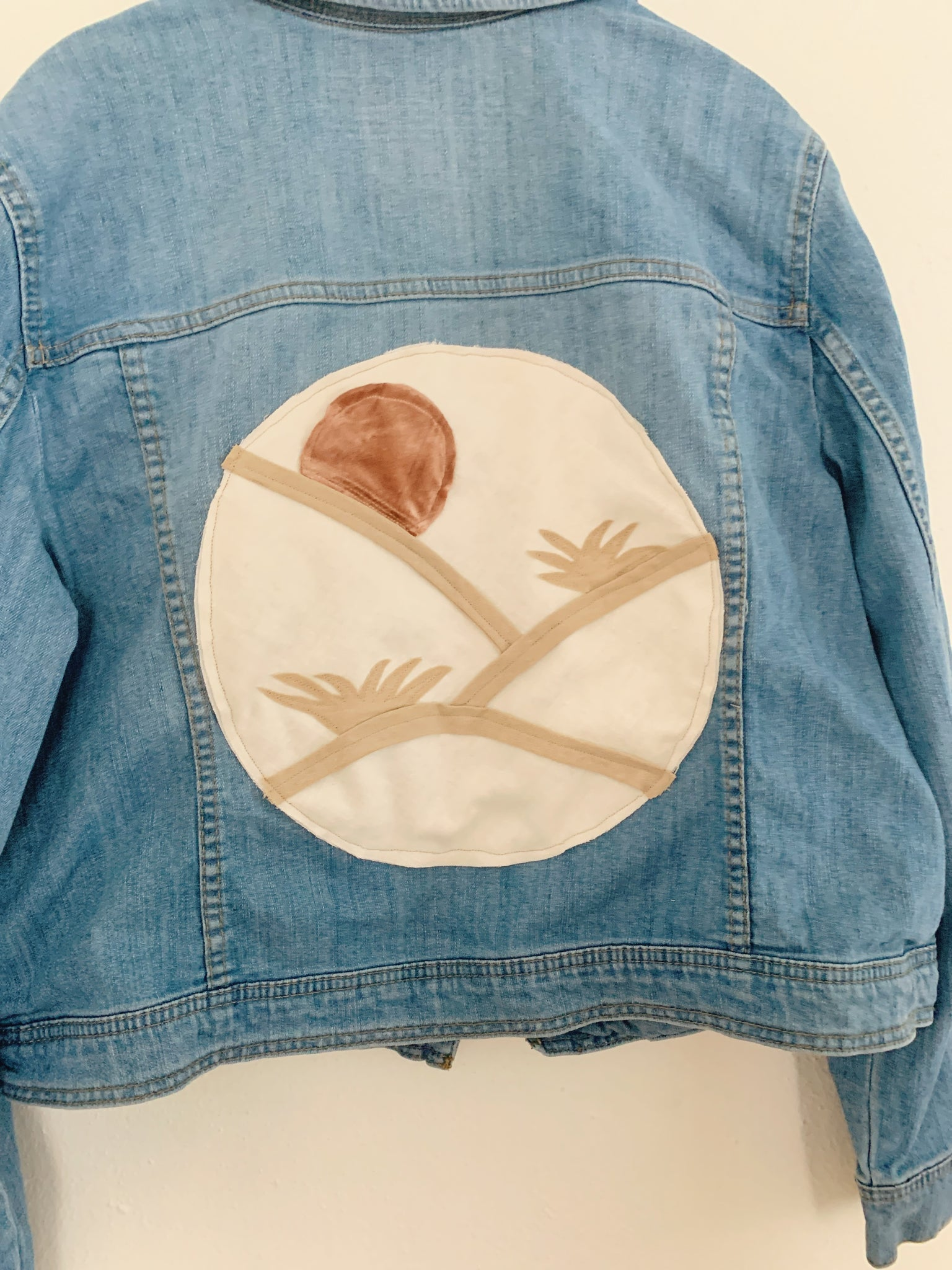 Arched Dunes Dreamscape Denim Jacket