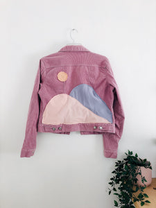 Mulberry Corduroy Dream Haze Jacket