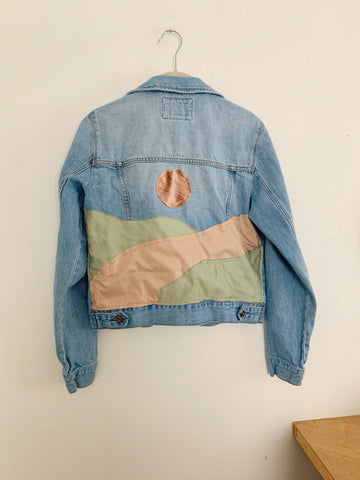 Pastel Hills Dreamscape Denim Denim Jacket
