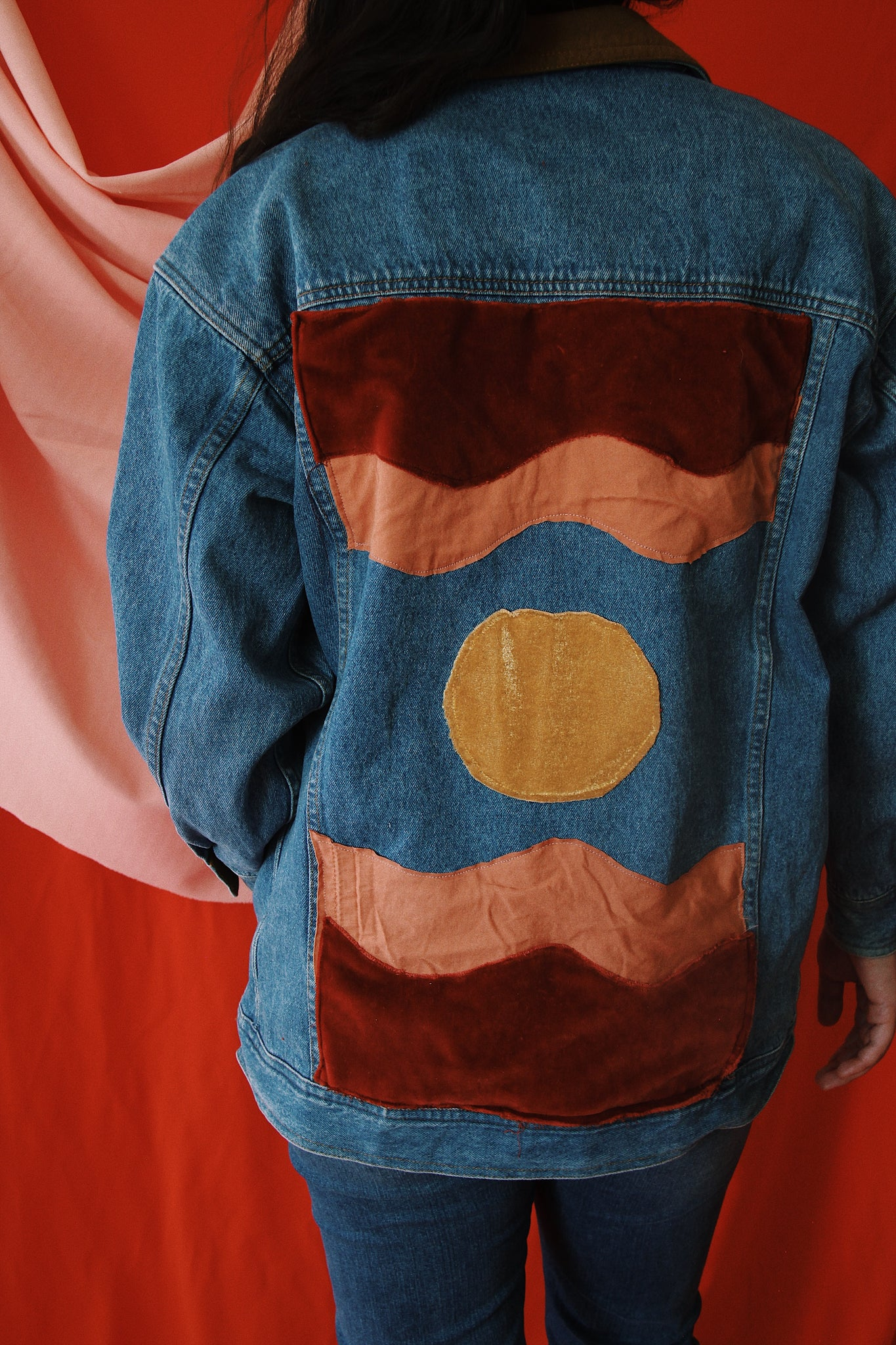 Dark Desert Days Denim Jacket