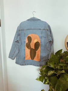 Nopal de Rosa Dreamscape Denim Chore Jacket