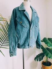 Adobe Pastel Desert Vintage Denim Jacket