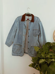 Desert Agave Shadow Dreamscape Denim Jacket