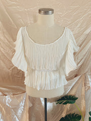 Wing Breeze Chiffon Top