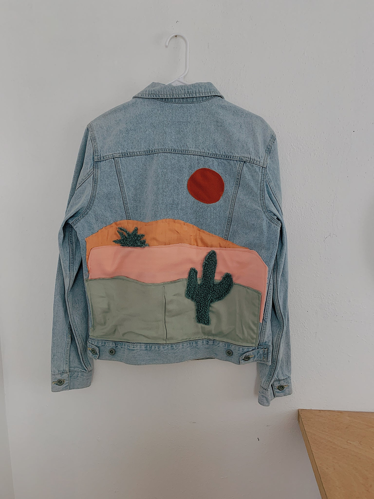 Saguaro Sundae Dreamscape Denim Jacket
