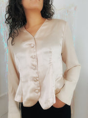 Shell Satin Top