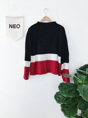 Blocked Boy Sweater