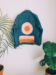 Warm Sanded Sunrise Denim Jacket