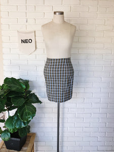 Vintage Cher Plaid Skirt