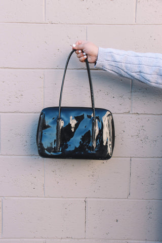 Patent Black Handbag