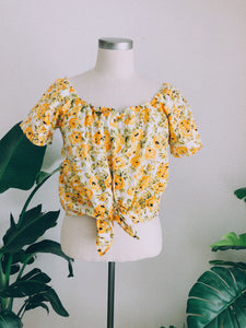 Sunflower Fields Summer Top