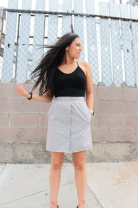 Button Down Skirt