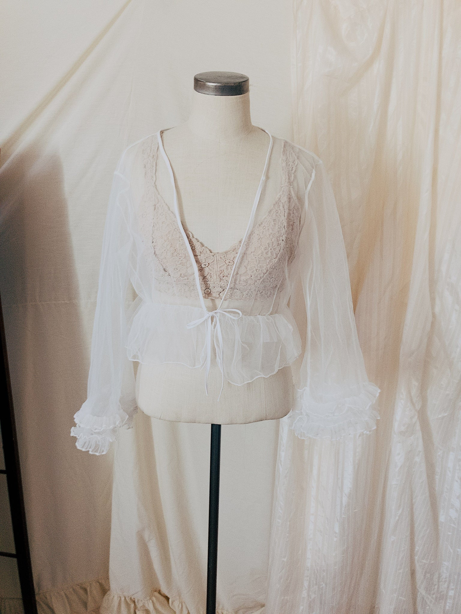 Dream Avenue Tulle Top