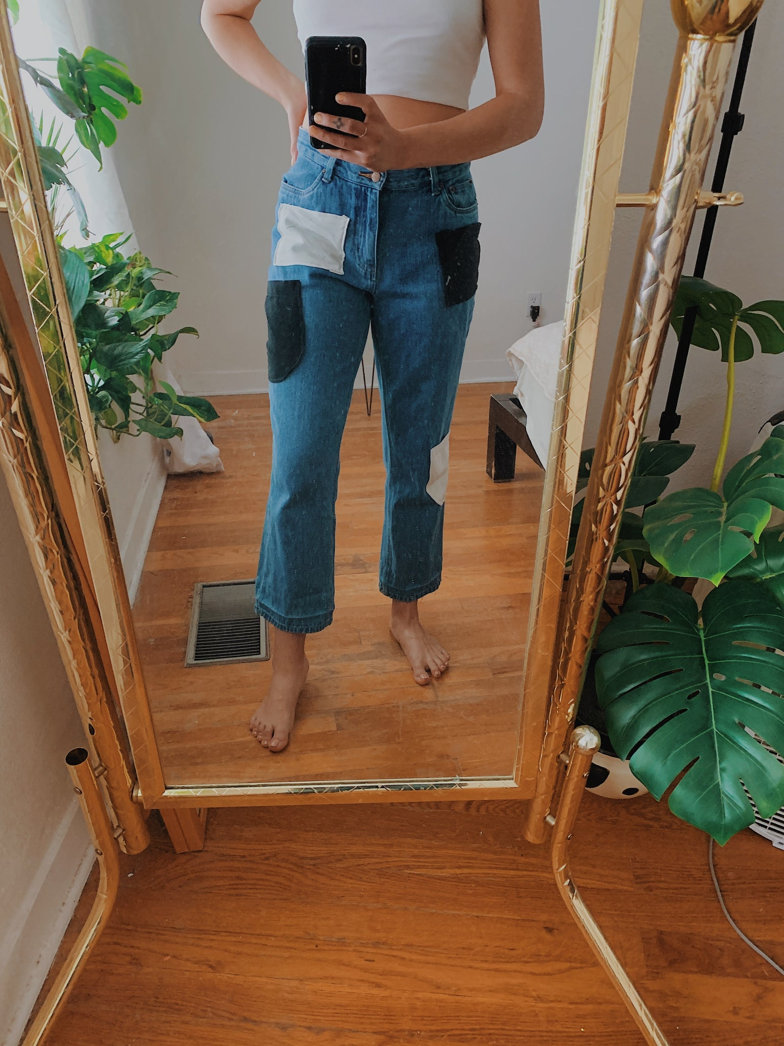 Domino Denim High Rise Jeans