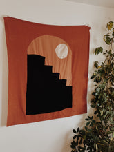 Load image into Gallery viewer, Upcycled Luna-lit Shadow Steps Wall Art