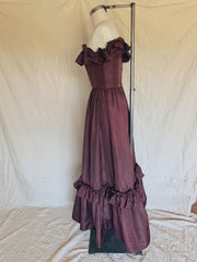 Dark Orchid Austen Dress