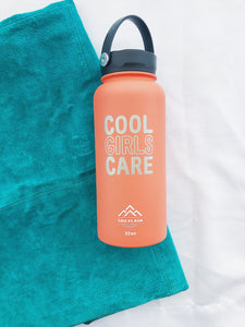 Cool Girls Care Water Bottle