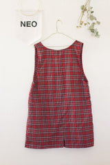 London Girl Plaid Dress