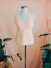 Peach Melba Halter Top