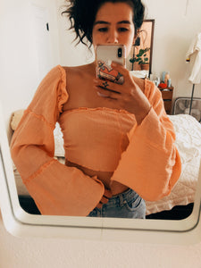 Peach Montague Top
