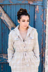 Plaid Adrienne dress