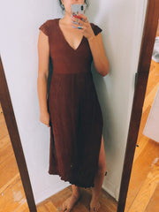 Spiced Rust Boho Dress