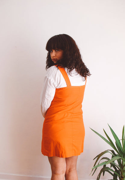 That 70's Retro Pinafore Dress