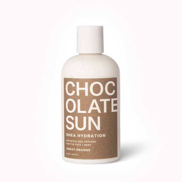 SHEA HYDRATION <BR> Botanical Sun Defense <br> Face + Body
